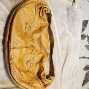 Marc by Marc Jacobs tan leather shoulder bag